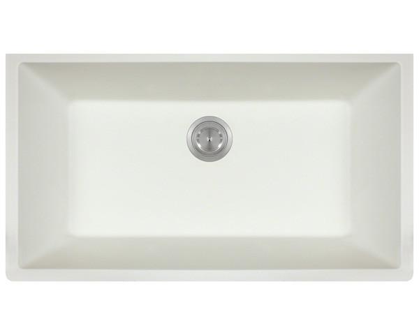Polaris P848 Kitchen Sink - White