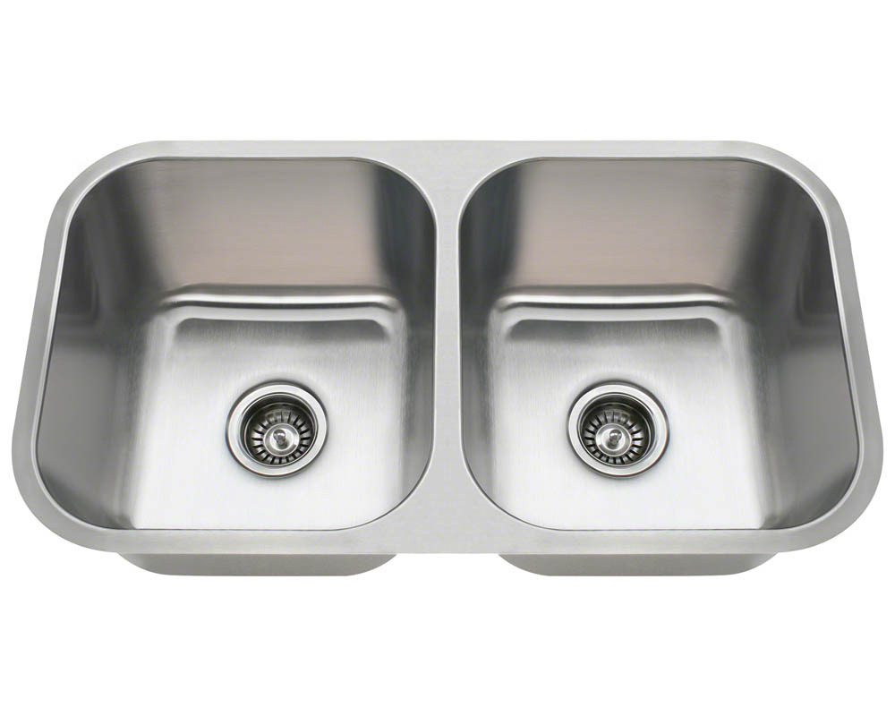 The PA8123 is part of our new line of economically-priced sinks. It is constructed from 18 gauge, 304 grade stainless steel. The surface has a brushed satin finish to help mask small scratches that occur over time and will keep this sink looking beautiful