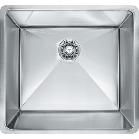 Franke PEX110-21 Planar 8 Series Undermount 18G Stainless Steel Sink Single Bowl