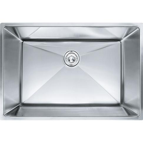 Franke PEX110-28 Planar 8 Undermount Steel Kitchen Sink Stainless Steel 18G