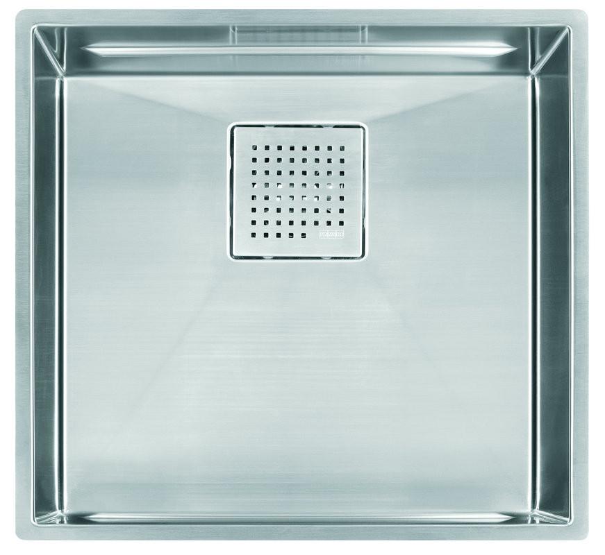 Franke PKX11018 Peak Undermount Rectangular Kitchen Sink in Stainless Steel