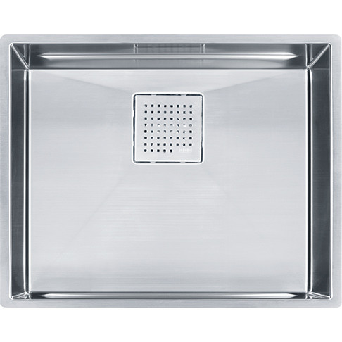 Franke PKX11021 Peak Stainless Steel Undermount Single Basin Kitchen Sink