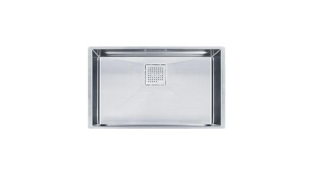 Franke PKX11028 Peak Stainless Steel Single Bowl Undermount Kitchen Sink
