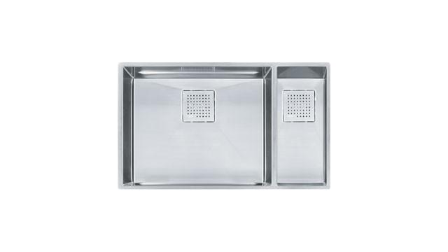 Franke PKX160 PEAK Sink Collection Double Basin Stainless Steel Kitchen Sink