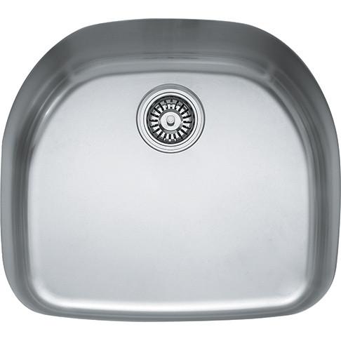 Franke PRX11021 Prestige Plus Single Bowl Undermount Kitchen Sink in Stainless Steal
