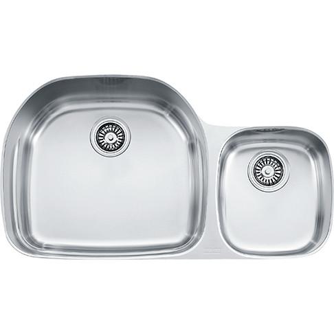 Franke PRX120 Prestige Plus Offset to the Right Double Bowl Undermount Kitchen Sink