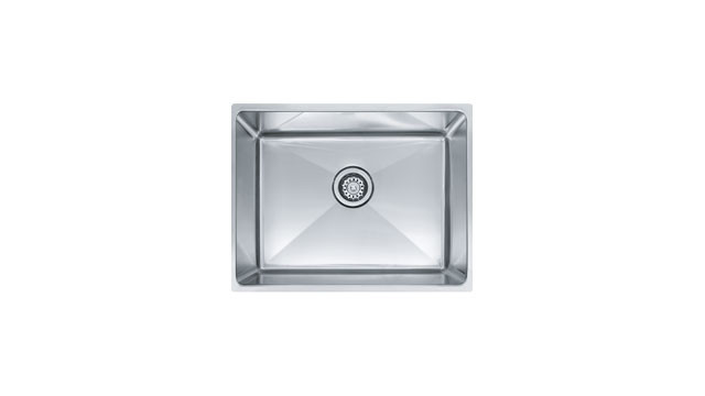 Franke PSX1102112 Single Basin Stainless Steel Undermount Kitchen Sink