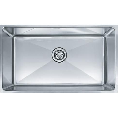 Franke PSX110309 Professional Undermount Single Kitchen Sink in Stainless Steel