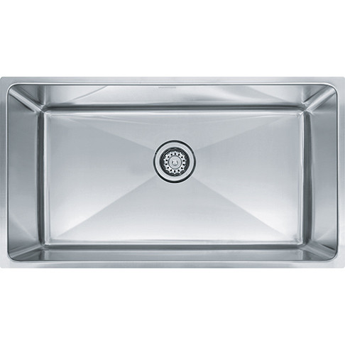 Franke PSX110339 Professional Single Basin Undermount Stainless Steel Kitchen Sink