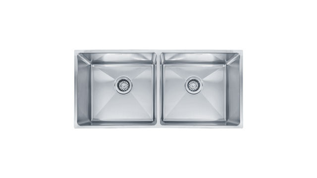 Franke PSX120339 Professional Equal Double Bowl Undermount Stainless Steel Kitchen Sink