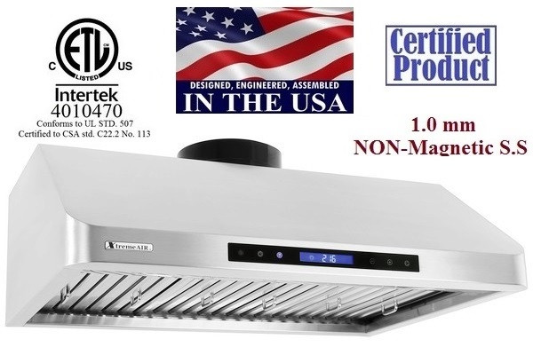 XtremeAir PX10-U30 Under Cabinet Kitchen Exhaust Range Hood