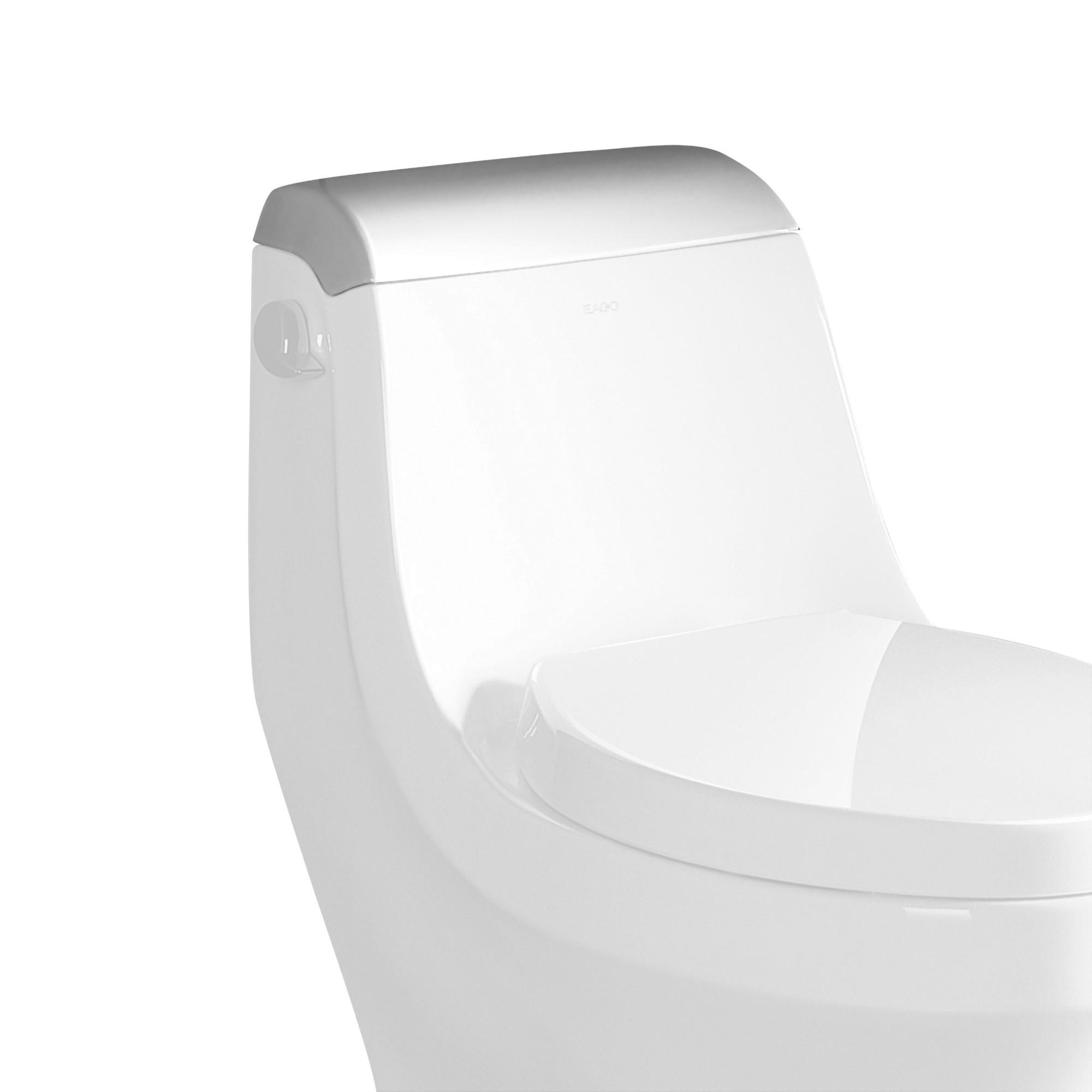 EAGO R-133LID Replacement Ceramic Toilet Lid for TB133