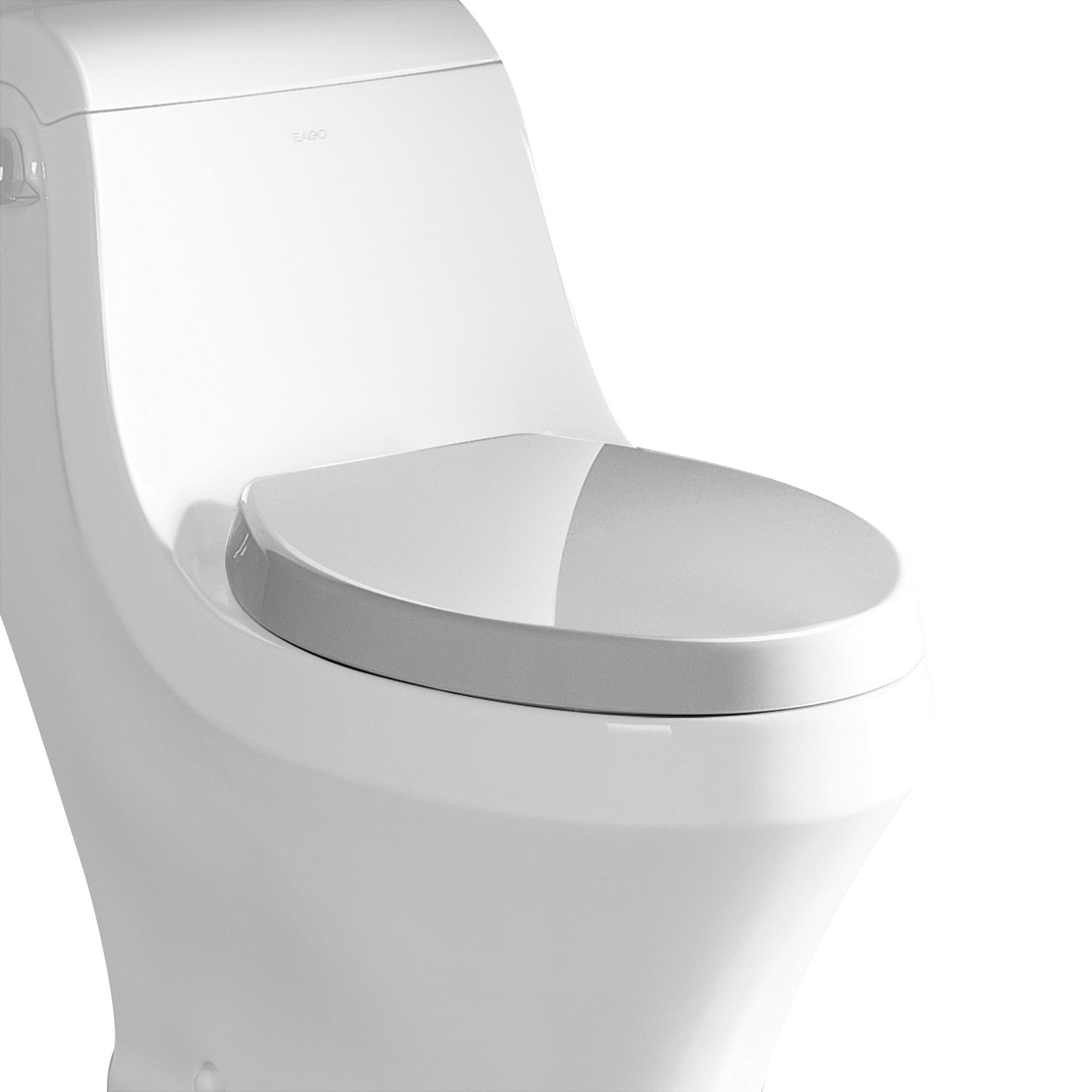 EAGO R-133SEAT Replacement Soft Closing Toilet Seat for TB133