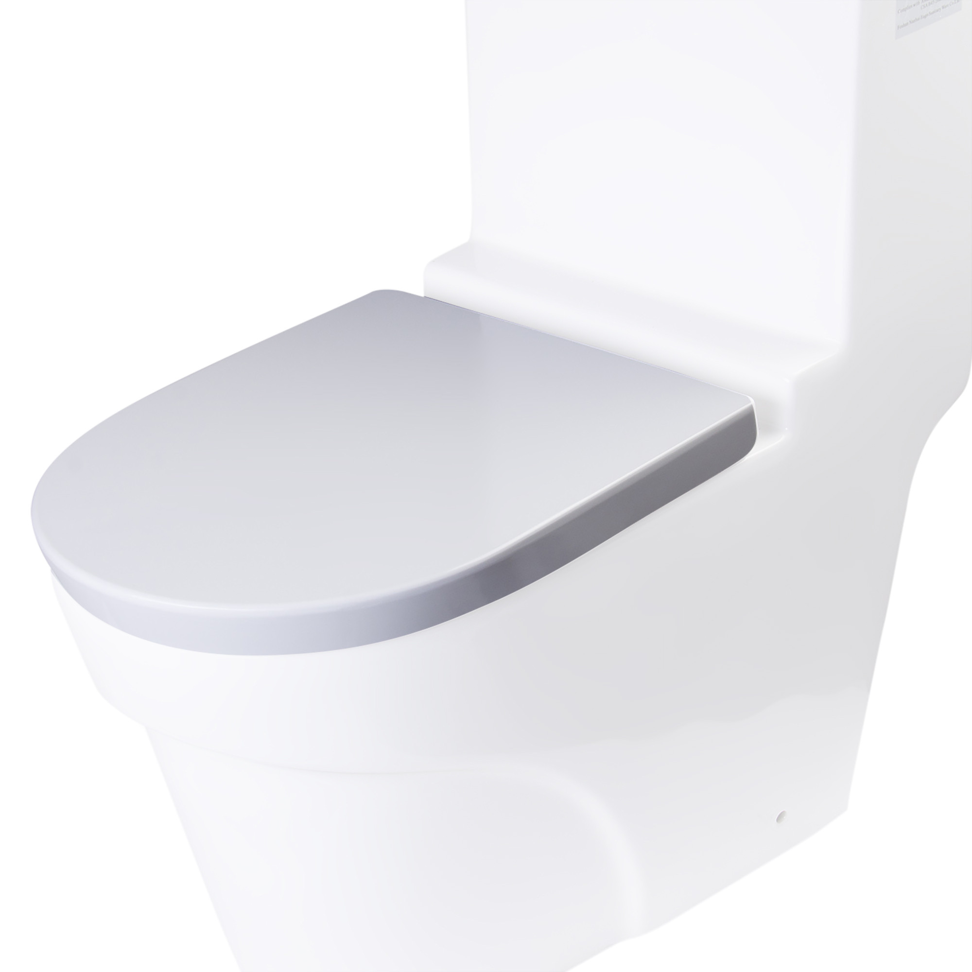 EAGO R-326SEAT Replacement Soft Closing Toilet Seat for TB326