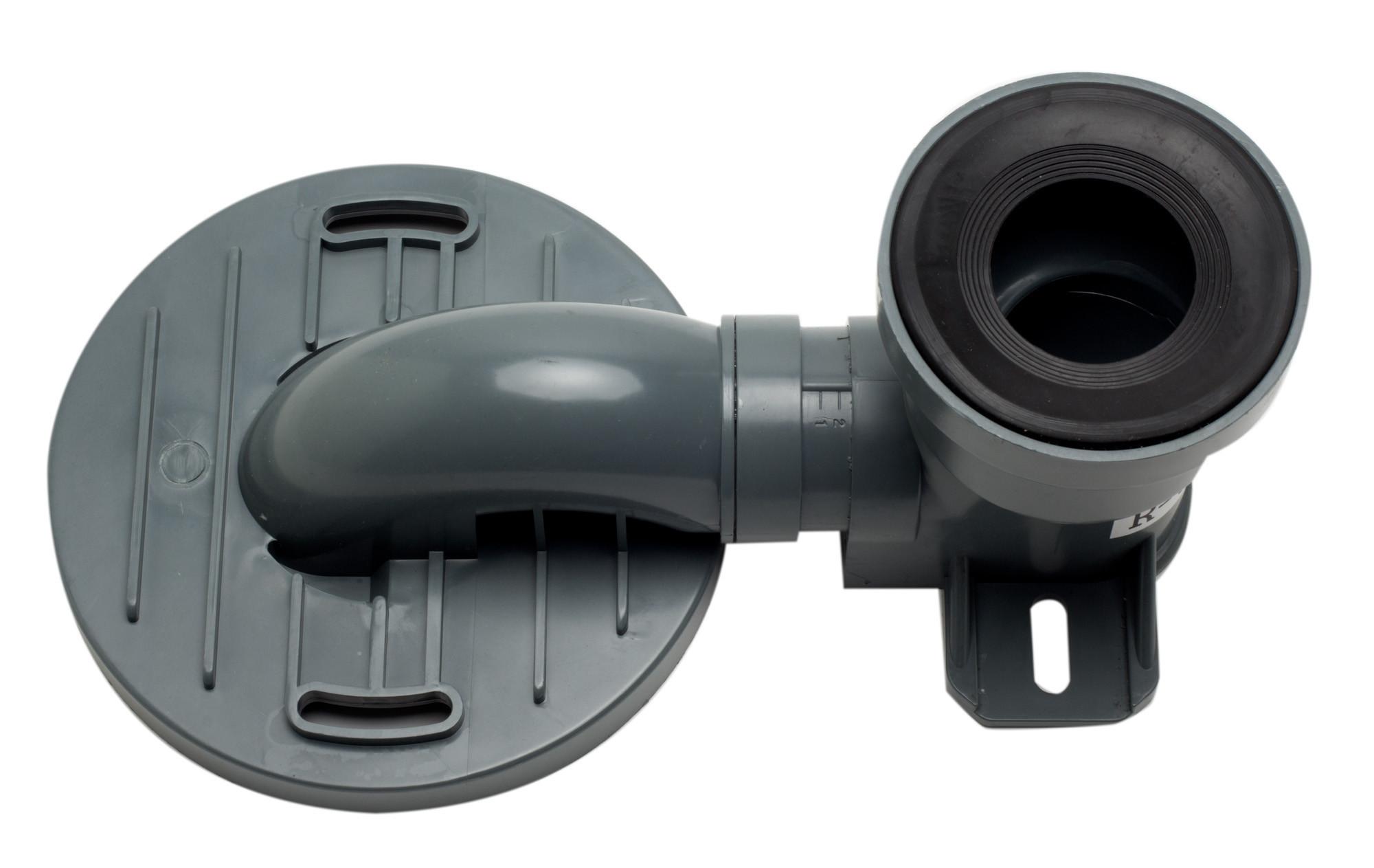 EAGO R-326TRAP Replacement PVC Toilet Trap for TB326