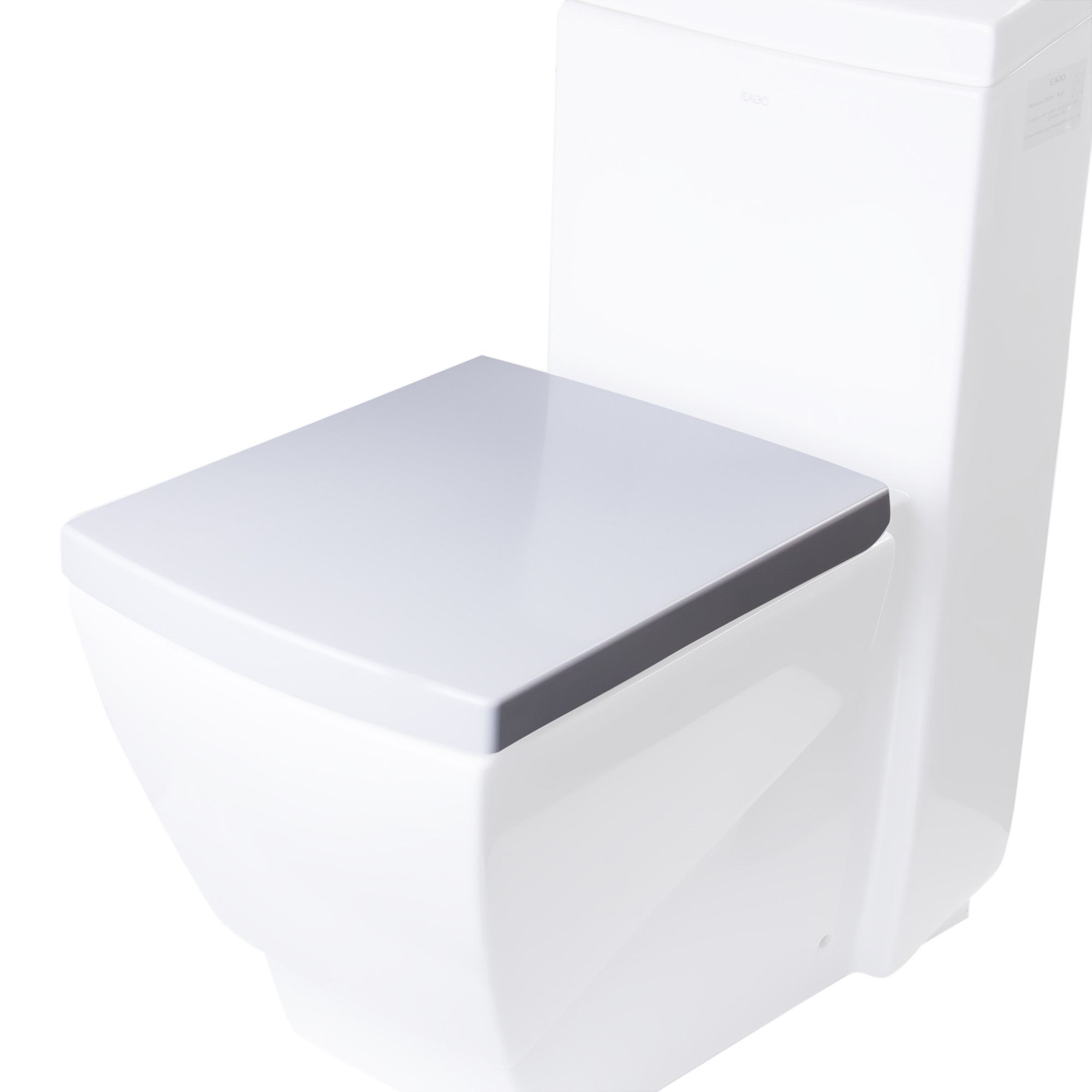 EAGO R-336SEAT Replacement Soft Closing Toilet Seat for TB336