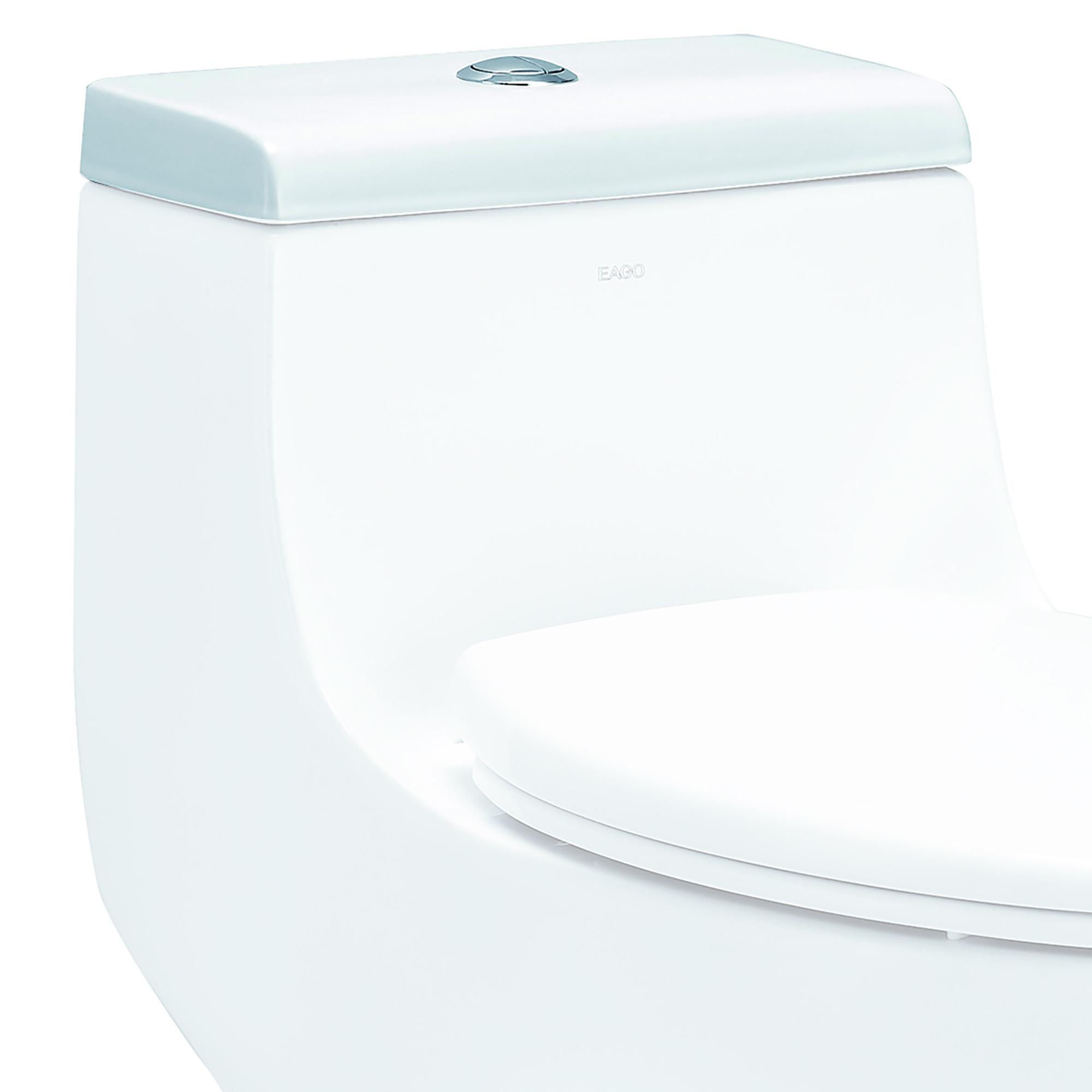EAGO R-358LID Replacement Ceramic Toilet Lid for TB358