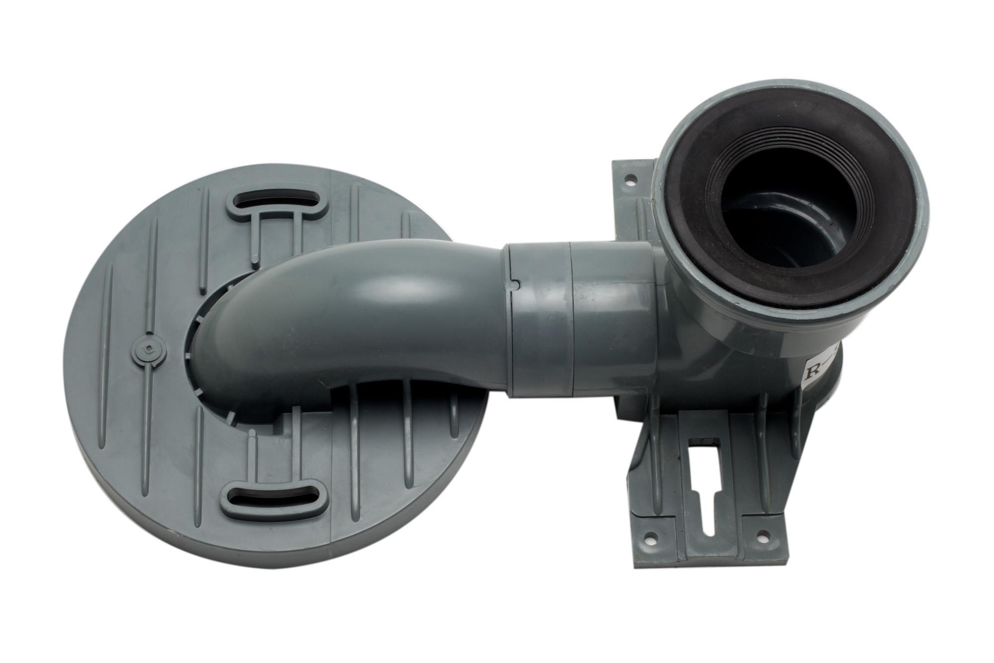 EAGO R-999TRAP Replacement PVC Toilet Trap TB336/TB358/TB351/TB353
