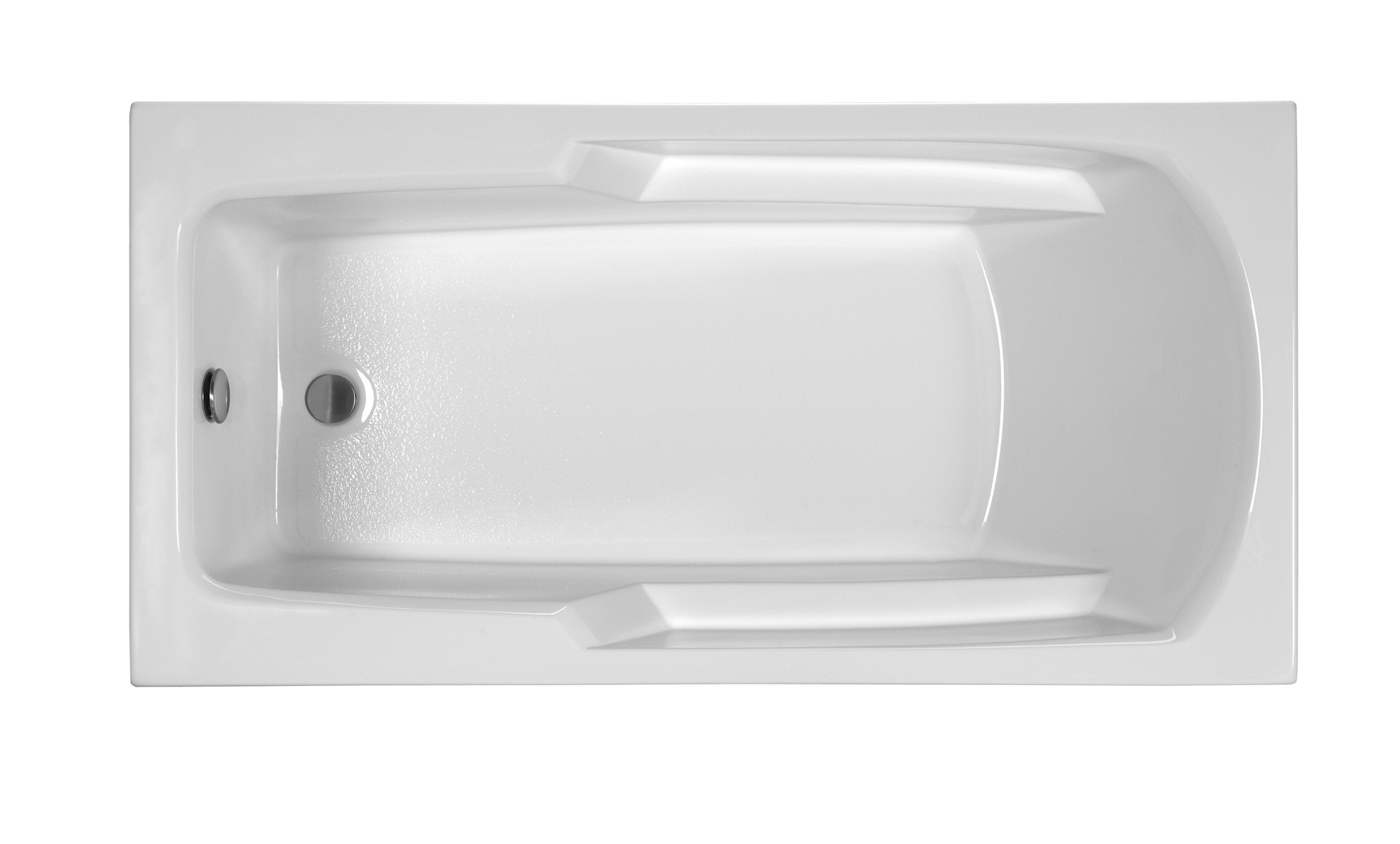 Reliance R6030ERRS 60 Inch Rectangular End Drain Soaking Bath