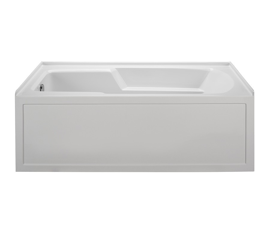 Reliance R6030ISW-LH 60 Inch Integral Skirted End Drain Whirlpool Bath