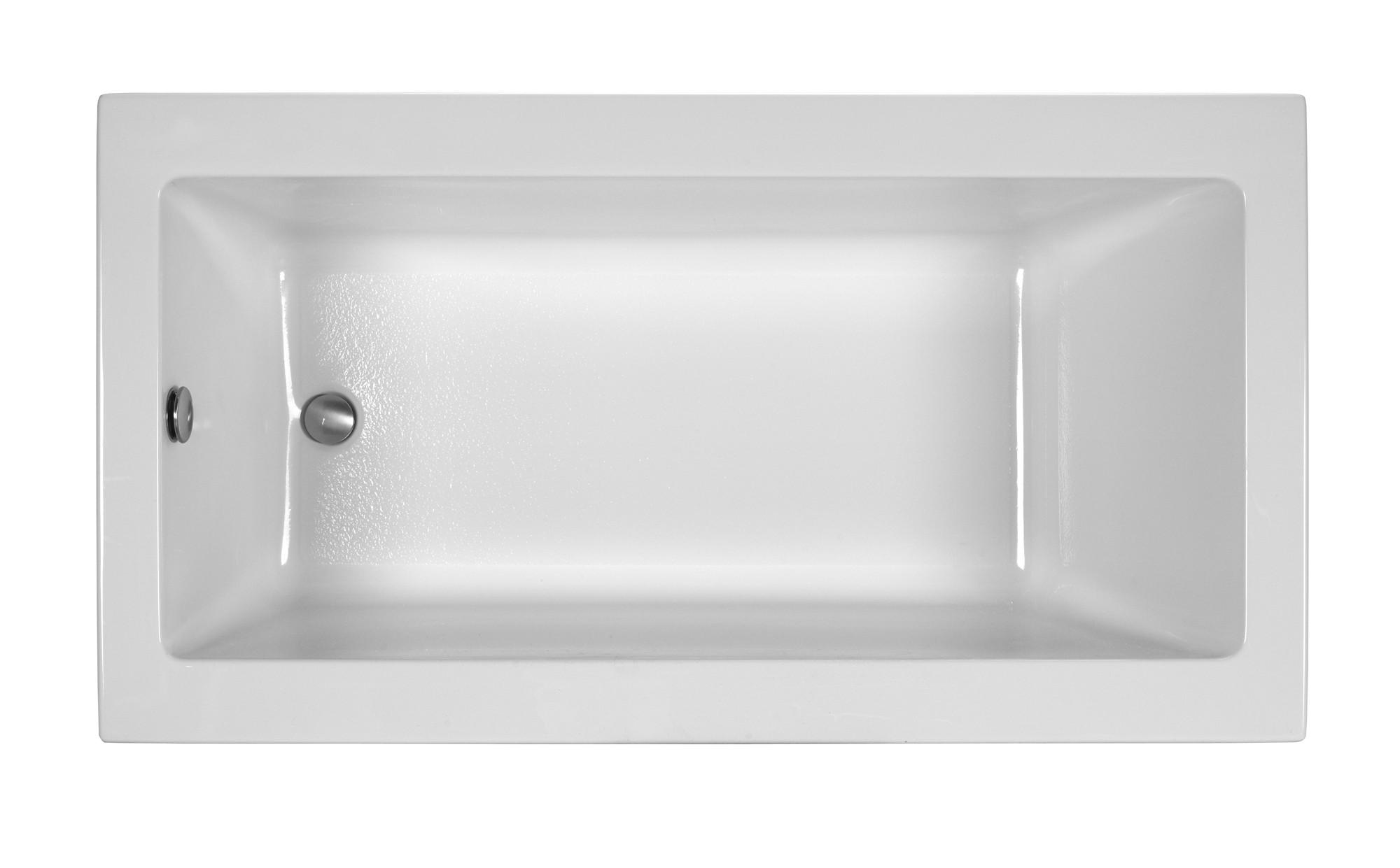 Reliance R6032CRS 60 Inch Rectangular End Drain Soaking Bath