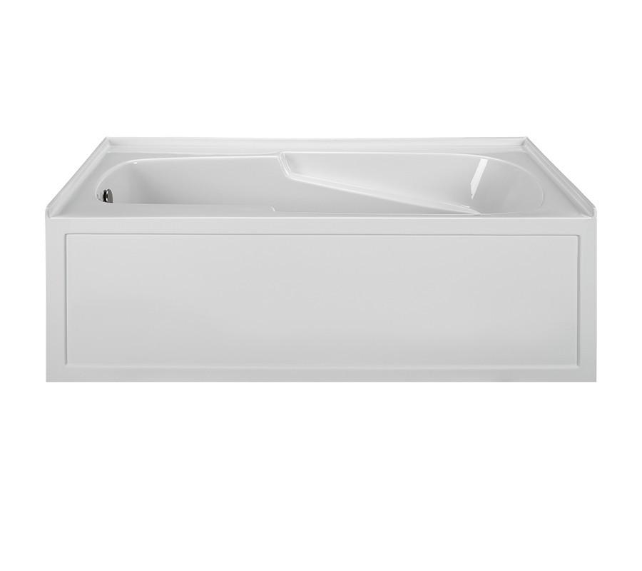 Reliance R6032ISS-LH 60 Inch Integral Skirted End Drain Soaking Bath