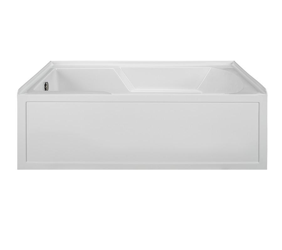 Reliance R6036ISS-LH 59.875 Inch Integral Skirted End Drain Soaking Bath