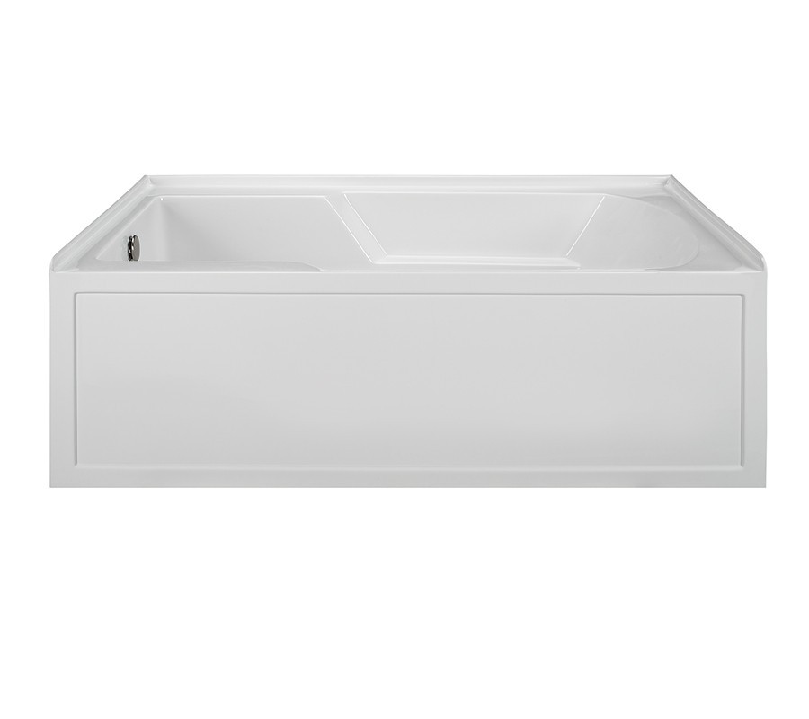 Reliance R6036ISW-LH 59.875 Inch Integral Skirted End Drain Whirlpool Bath