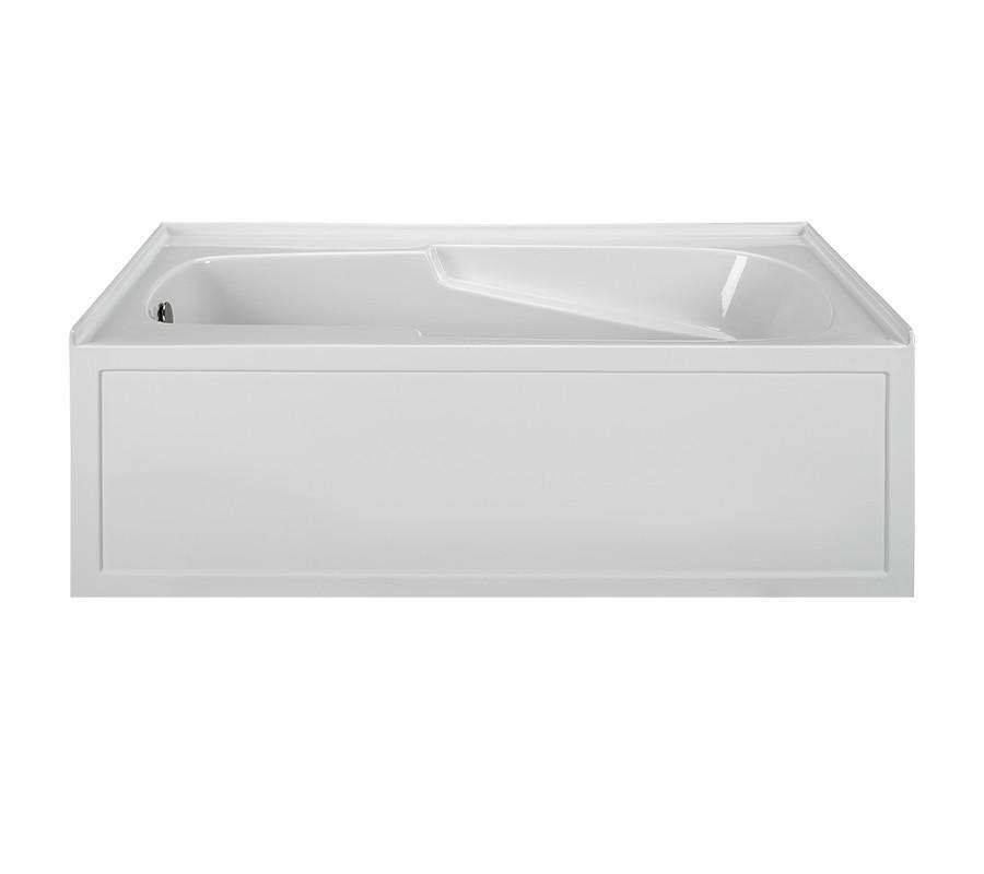 Reliance R6042ISS-LH 60 Inch Integral Skirted End Drain Soaking Bath