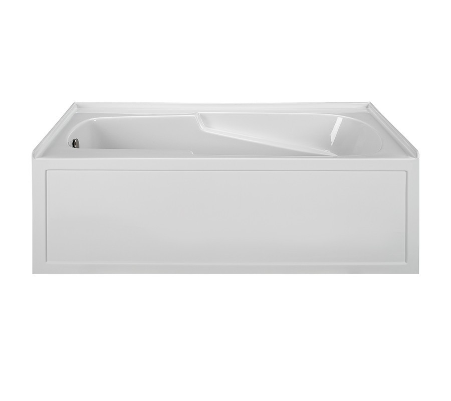 Reliance R6042ISW-LH 60 Inch Integral Skirted End Drain Whirlpool Bath