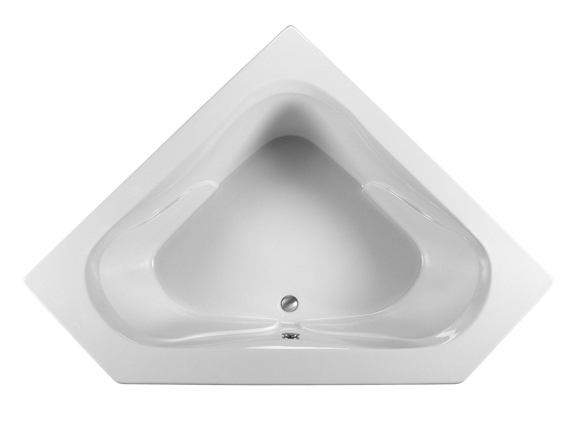 Reliance R6060OCW 59.25 Inch Open Corner Whirlpool Bath