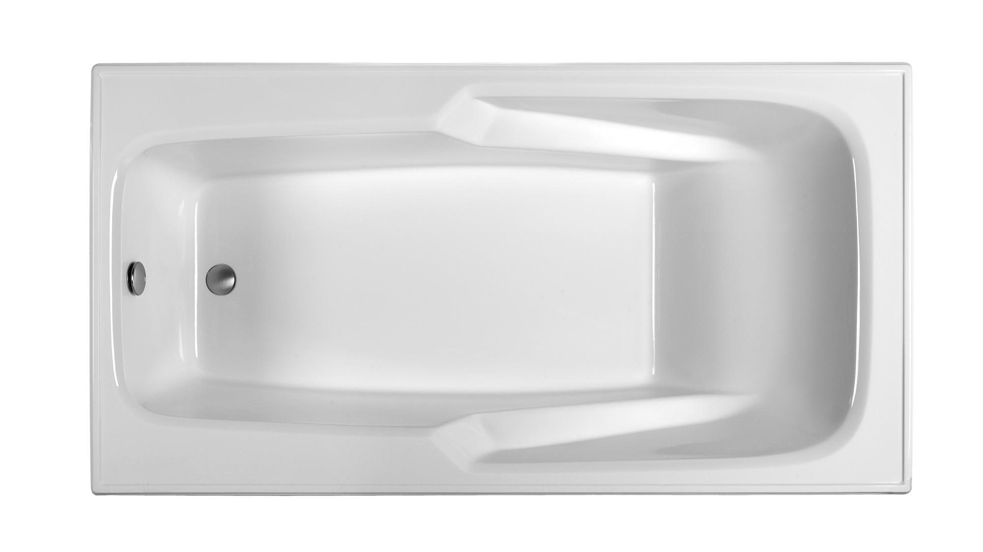 Reliance R7136ERRA 70 Inch Rectangular End Drain Air Bath
