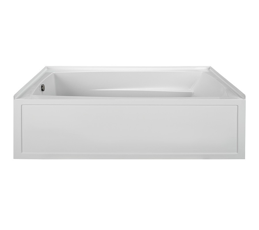 Reliance R7236ISW-LH 72 Inch Integral Skirted End Drain Whirlpool Bath