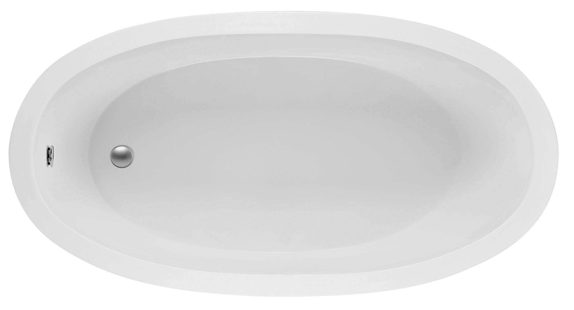 Reliance R7236ODIS 72 Inch Oval End Drain Soaking Bath