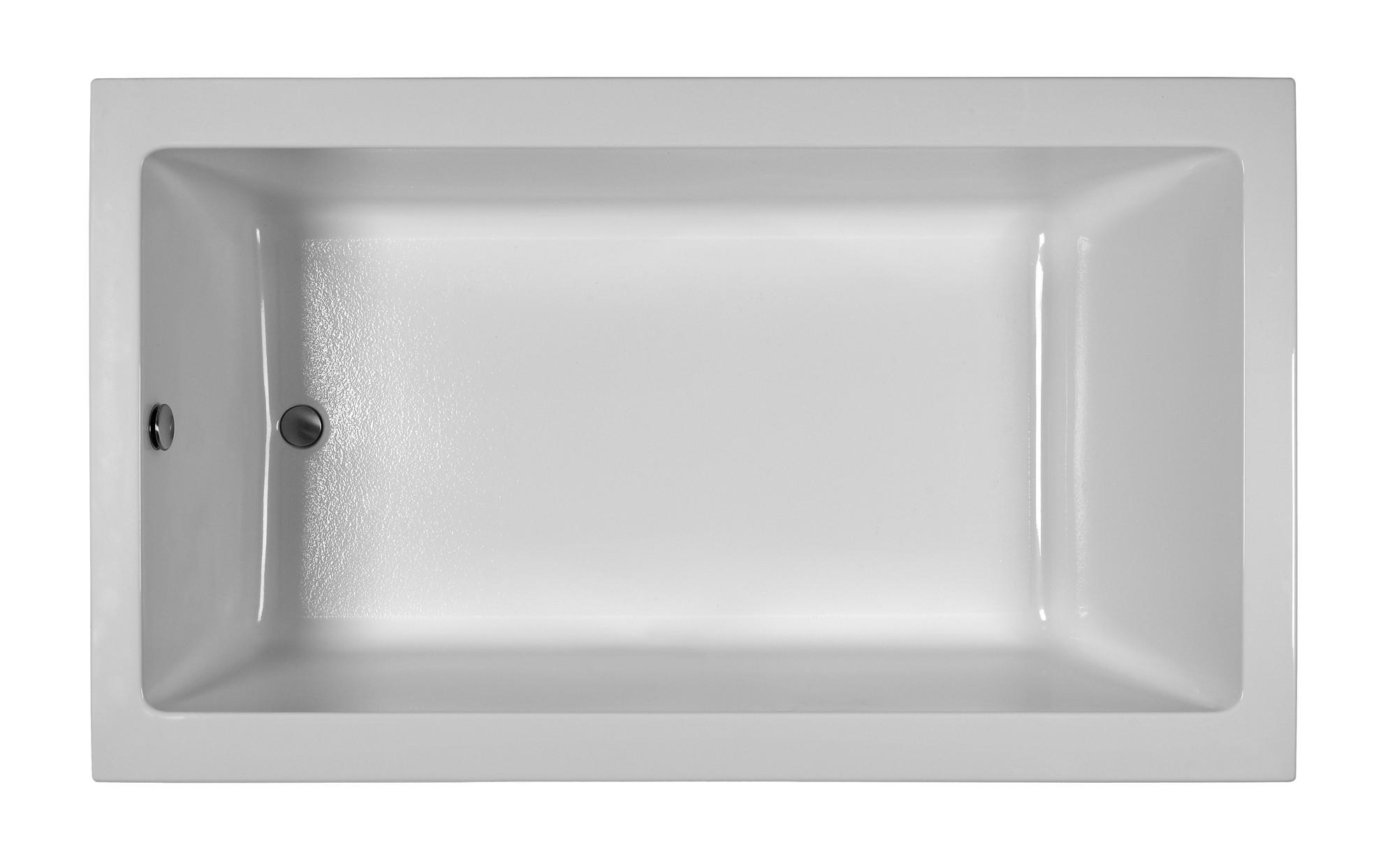 Reliance R7242CRS 72 Inch Rectangular End Drain Soaking Bath