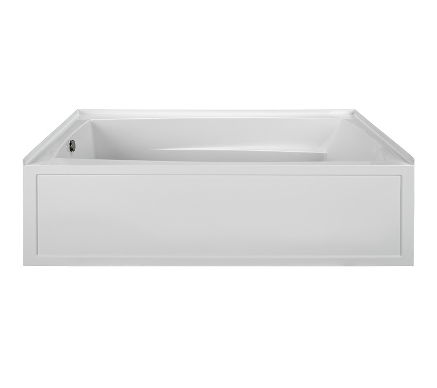 Reliance R7242ISW-LH 72 Inch Integral Skirted End Drain Whirlpool Bath