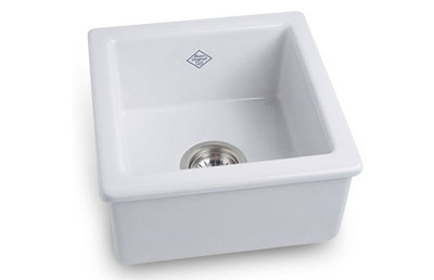 Rohl RC1515 15'' Shaws Original Fireclay Farmhouse Sink