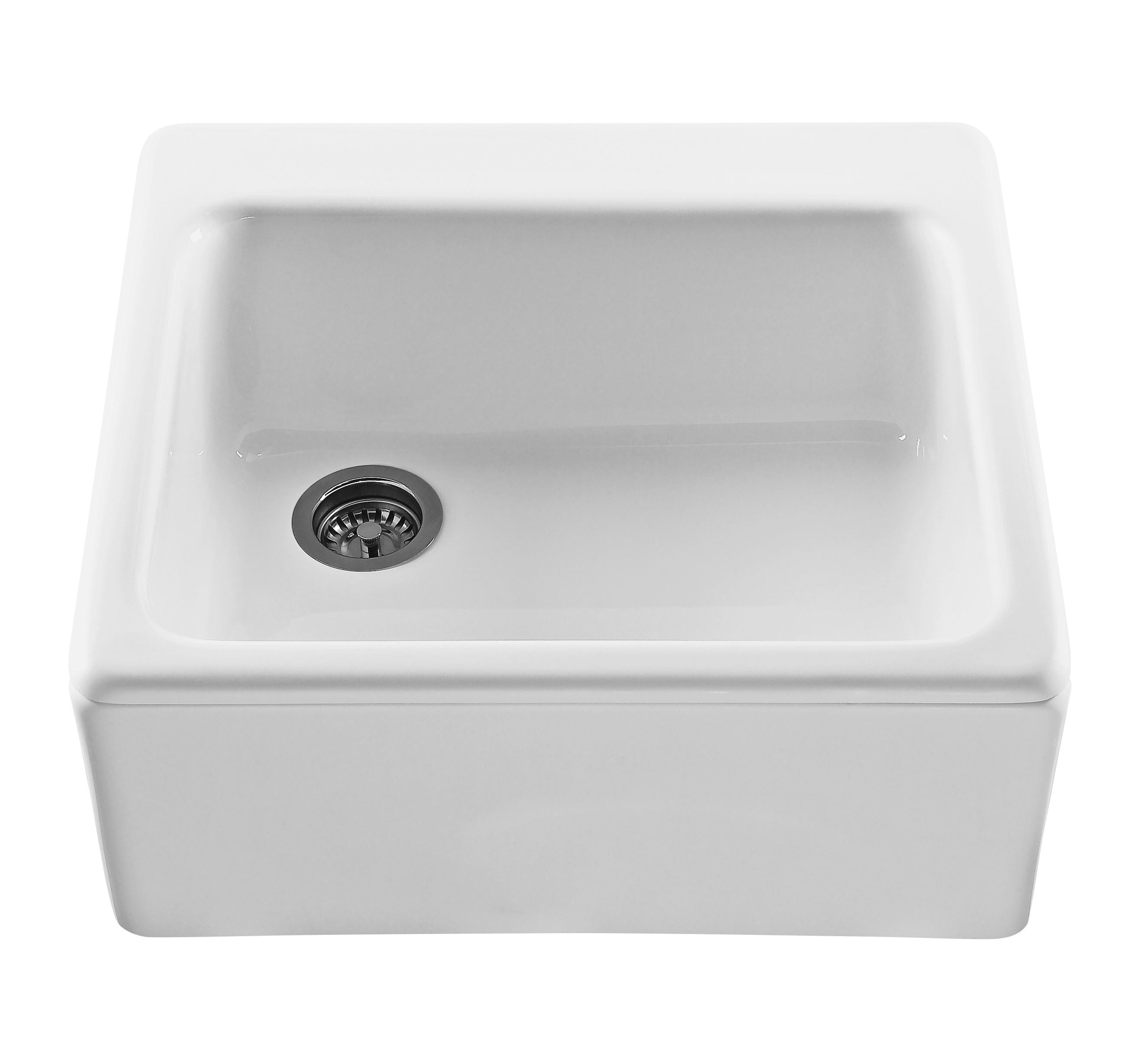 Reliance RKS240 The Hatfield Single Bowl Farmhouse Style Kitchen Sink