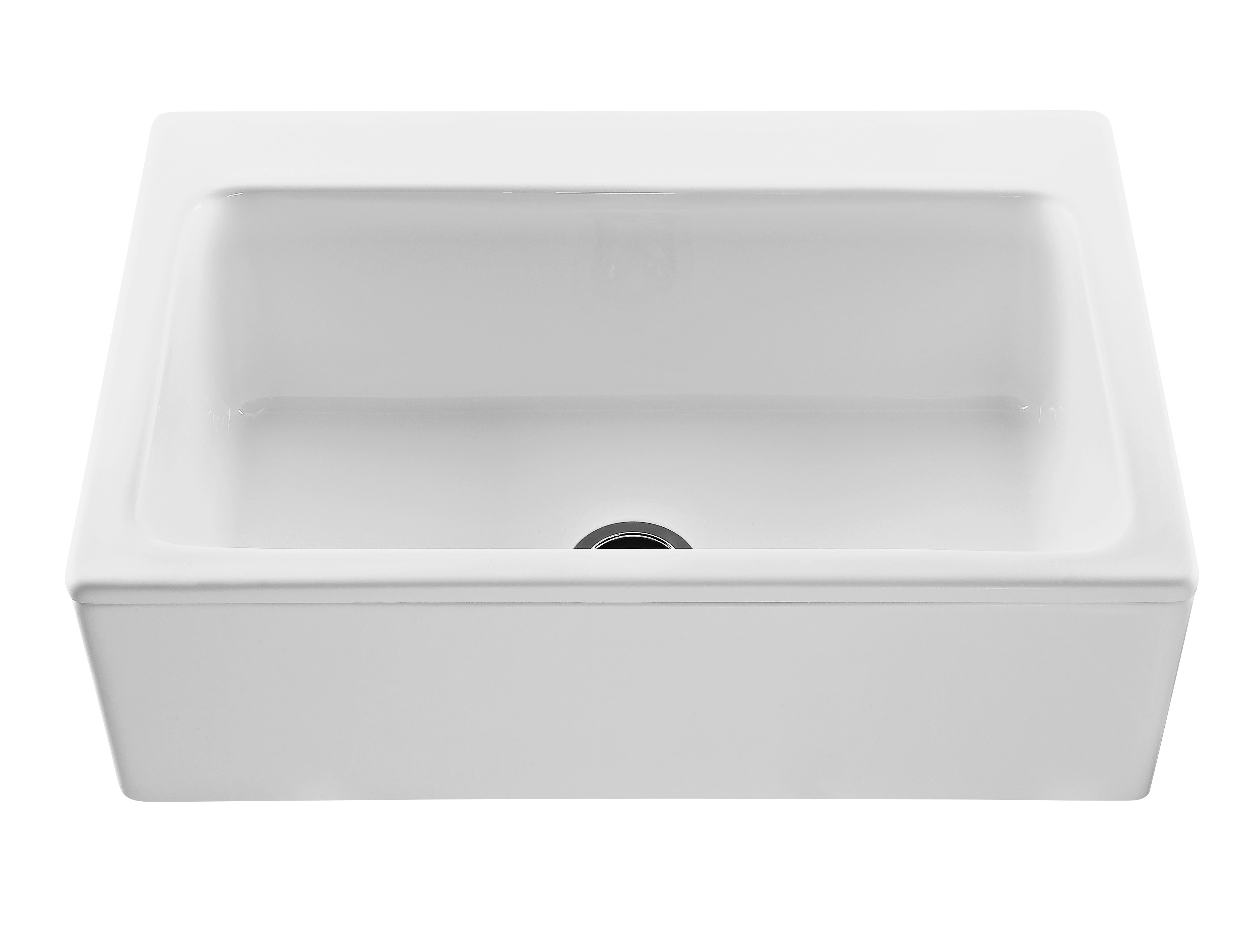 Reliance RKS250 The Mccoy Rectangular Farmhouse Style Kitchen Sink