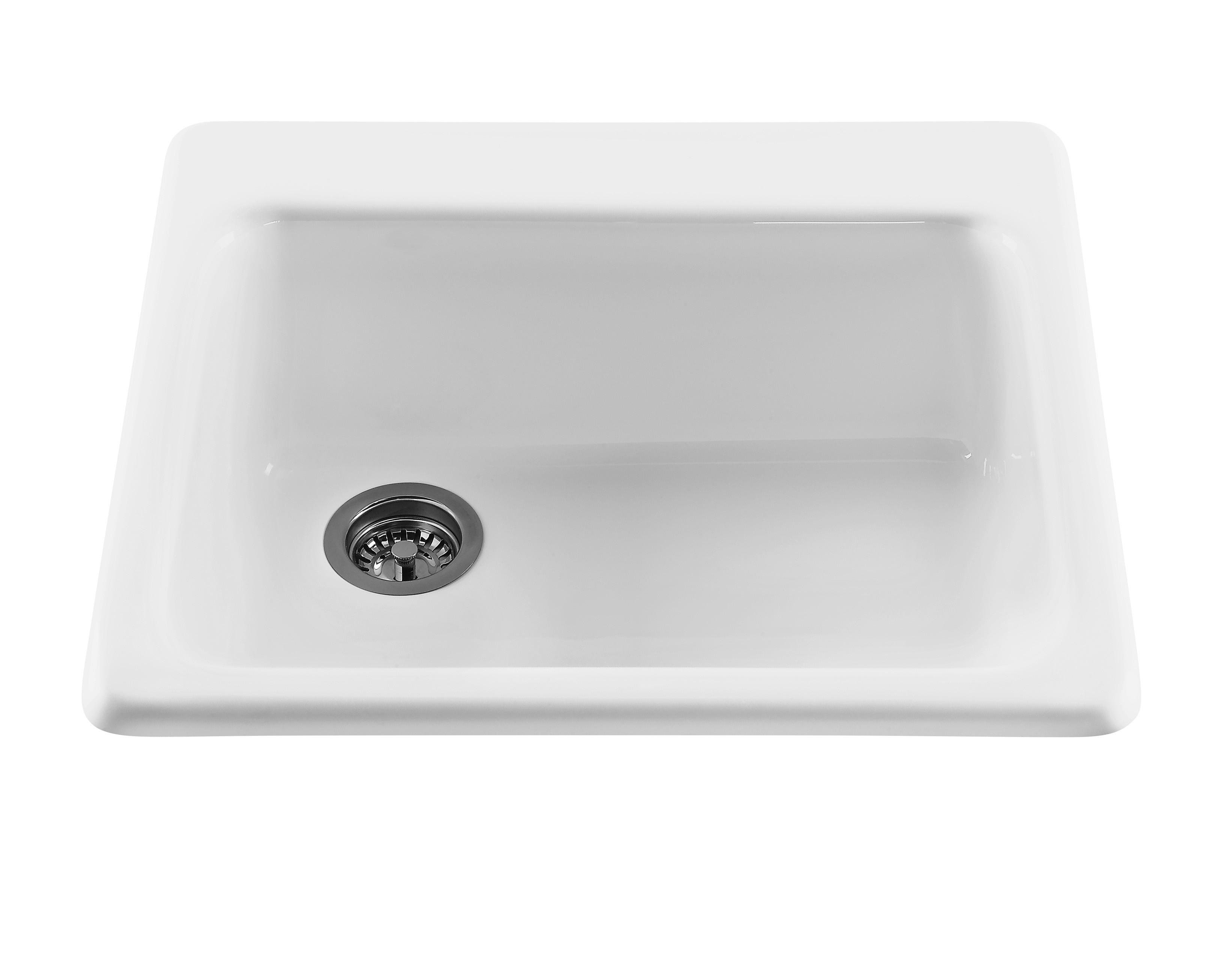 RKS40GRP1 Simplicity's Rectangular Kitchen Sink In Black