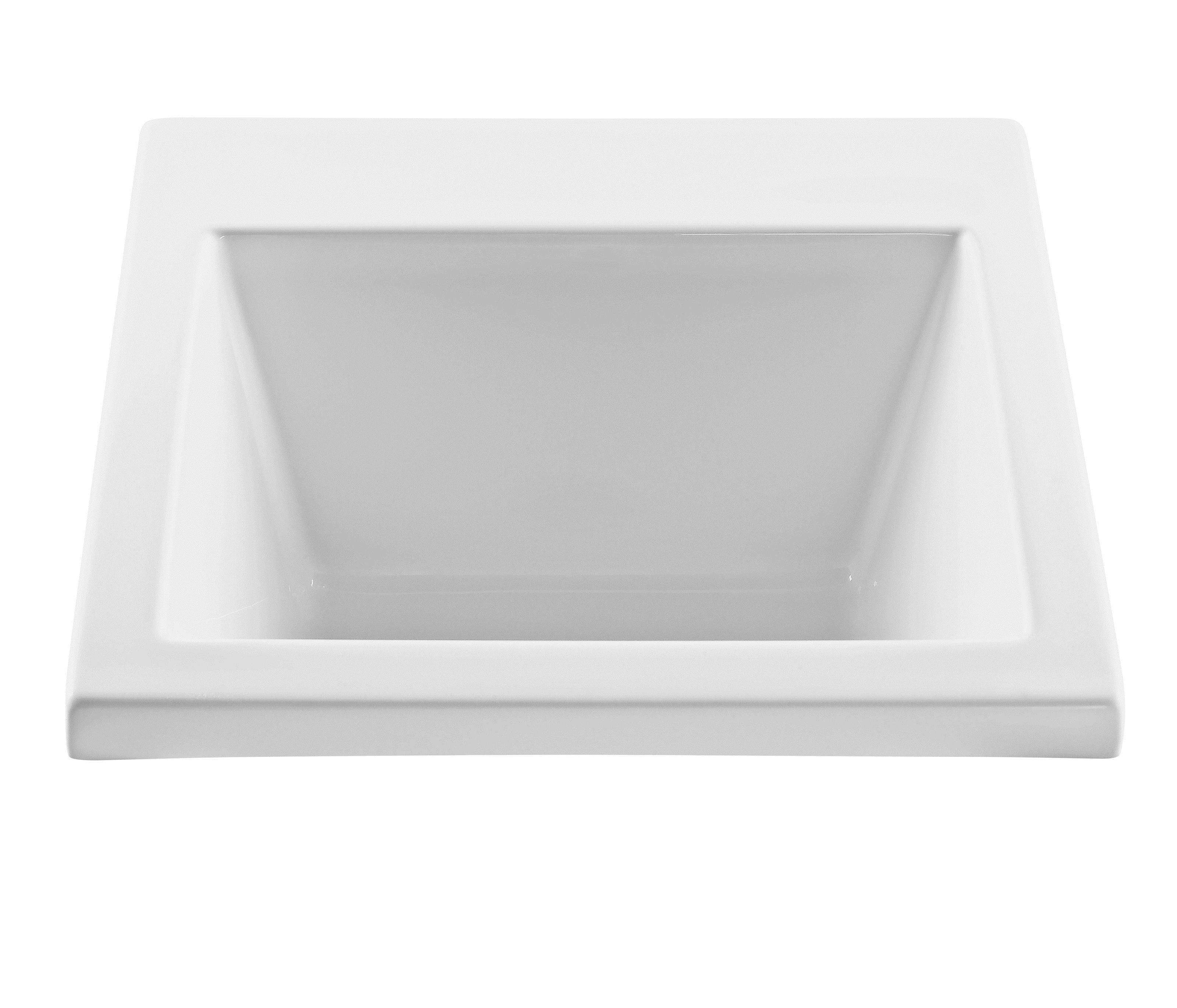 RLS120GRP1 Versatile Acrylic Single Bowl Laundry Sink In Black