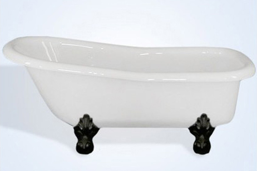 Restoria RS554-NI Imperial 5 Foot 6 inch Slipper Tub With No Faucet Holes