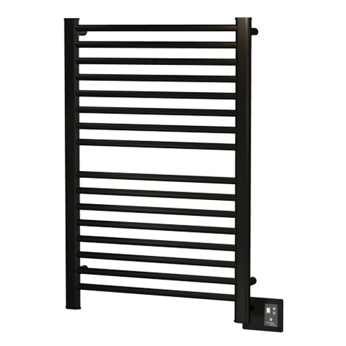 Amba S2942O Sirio Hardwired Straight Stainless Steel Towel Warmer In Oil Rubbed Bronze