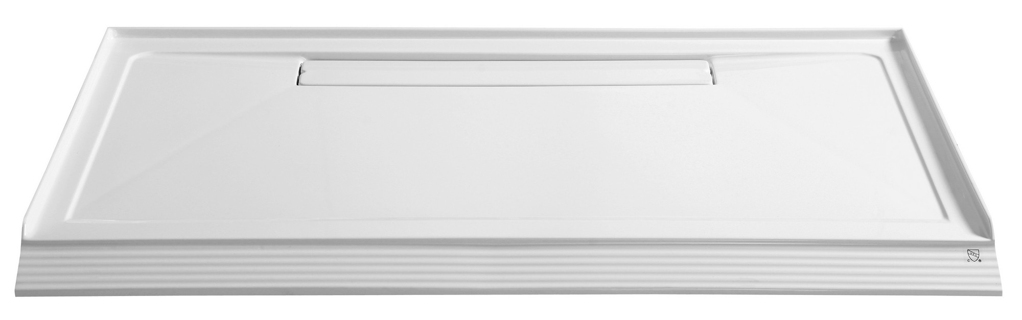 Anzzi SB-AZ014WC Plateau Series 60 in. x 36 in. Shower Base in White