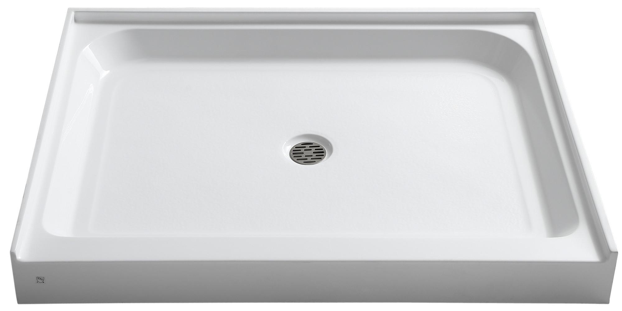 ANZZI SB-AZ02XX Reach 36 x 48 in. Single Threshold Shower Base in White