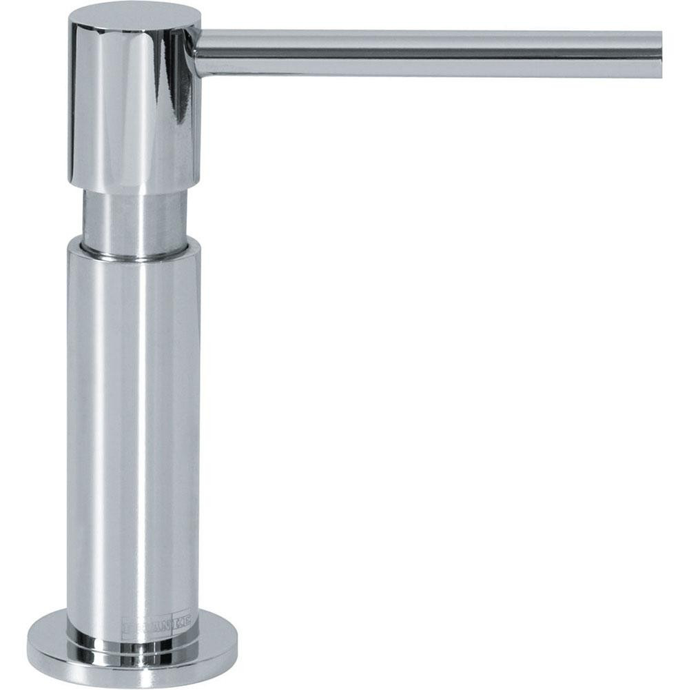 Franke SD-500 Twin Deck Mounted Kitchen Accessories Soap Dispenser in Chrome