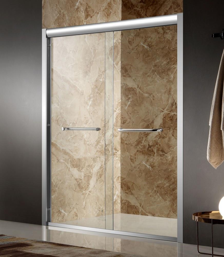 ANZZI SD-AZ01ACH-L Pharaoh Framed Sliding Shower Door In Polished Chrome