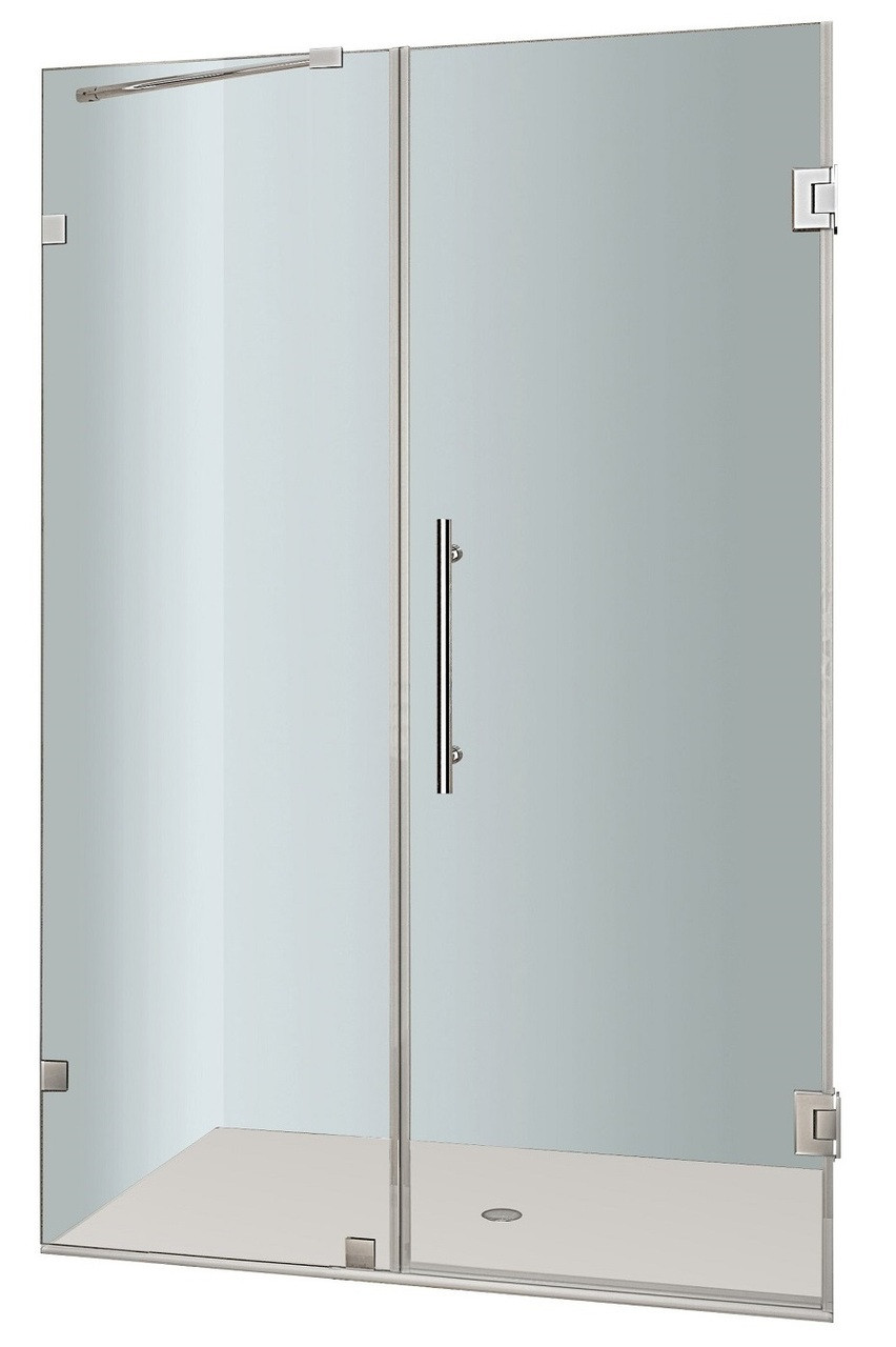 Aston Global SDR985-..-51-10 Nautis Completely Frameless Hinged Shower Door