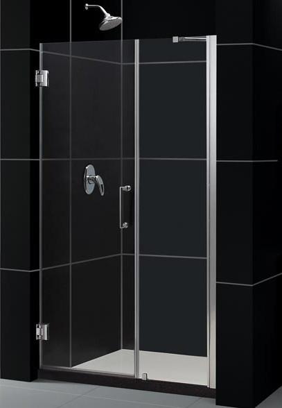 """DreamLine SHDR-20497210 Unidoor Frameless 49-50"""" Adjustable Shower Door"""