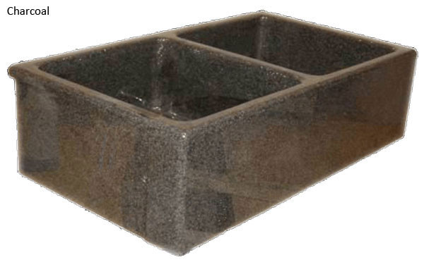 Quiescence SI-FDP-3319 Double Smooth Stone Farm Sink